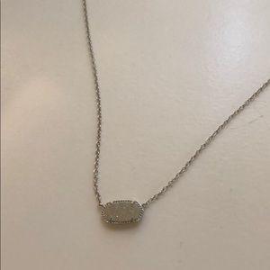 Kendra Scott druzy Elisa necklace